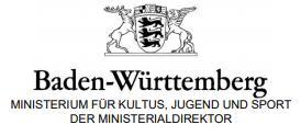 Das Ministerium für Kultus, Jugend und Sport informiert: