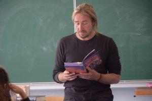 Lesung von Jugendbuchautor Patrick Hertweck